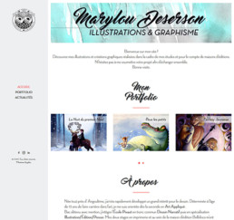 Home page Marylou Deserson